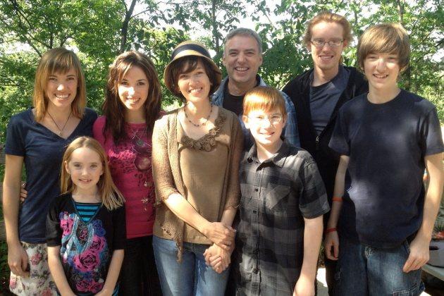 Elder Family, Mother's Day 2012